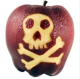 пестицидное яблоко